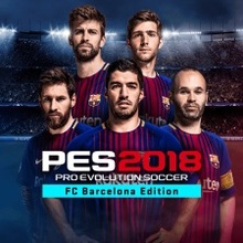 PES 2018 PRO EVOLUTION SOCCER - FC Barcelona Edition