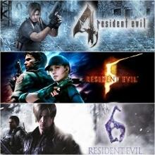 Набор Resident Evil «3 в 1»