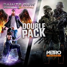 Metro & Saints Row - Double Pack